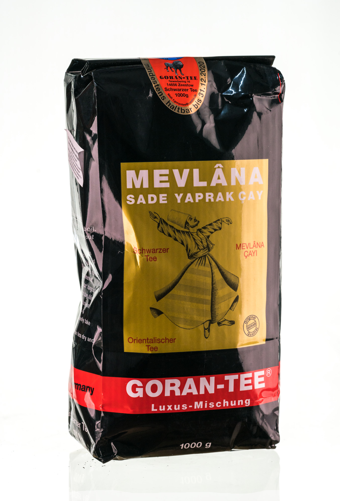 Black Tea Sprinkled Mevlana