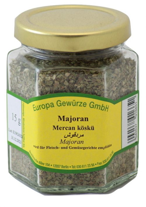 marjoram shredded